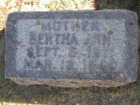 HAMM, BERTHA ANN - Dawes County, Nebraska | BERTHA ANN HAMM - Nebraska Gravestone Photos