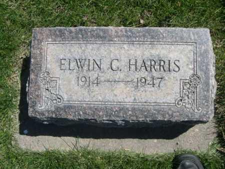 HARRIS, ELWIN C. - Dawes County, Nebraska | ELWIN C. HARRIS - Nebraska Gravestone Photos