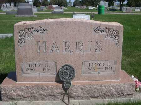 HARRIS, INEZ - Dawes County, Nebraska   INEZ HARRIS - Nebraska Gravestone Photos