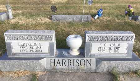 HARRISON, GERTRUDE E. - Dawes County, Nebraska | GERTRUDE E. HARRISON - Nebraska Gravestone Photos