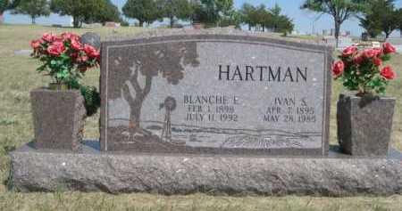 HARTMAN, IVAN S. - Dawes County, Nebraska | IVAN S. HARTMAN - Nebraska Gravestone Photos