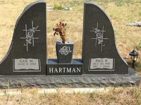 HARTMAN, PAUL R. - Dawes County, Nebraska | PAUL R. HARTMAN - Nebraska Gravestone Photos