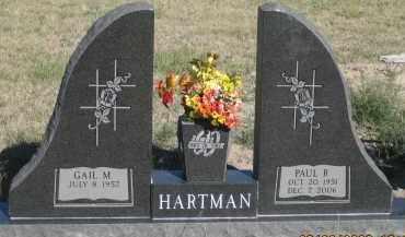 HARTMAN, PAUL B. - Dawes County, Nebraska | PAUL B. HARTMAN - Nebraska Gravestone Photos