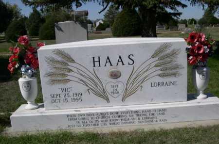 HAAS, VIC - Dawes County, Nebraska | VIC HAAS - Nebraska Gravestone Photos