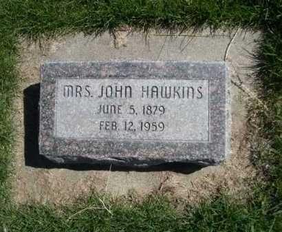 HAWKINS, MRS. JOHN - Dawes County, Nebraska | MRS. JOHN HAWKINS - Nebraska Gravestone Photos