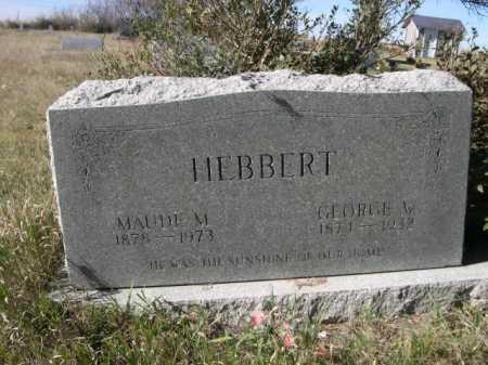 HEBBERT, MAUDE M. - Dawes County, Nebraska | MAUDE M. HEBBERT - Nebraska Gravestone Photos