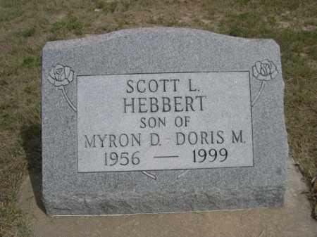 HEBBERT, SCOTT L. - Dawes County, Nebraska | SCOTT L. HEBBERT - Nebraska Gravestone Photos