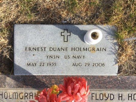 HOLMGRAIN, ERNEST DUANE - Dawes County, Nebraska | ERNEST DUANE HOLMGRAIN - Nebraska Gravestone Photos