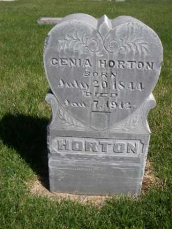 HORTON, CENIA - Dawes County, Nebraska | CENIA HORTON - Nebraska Gravestone Photos