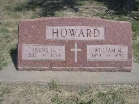 HOWARD, IRENE G. - Dawes County, Nebraska | IRENE G. HOWARD - Nebraska Gravestone Photos
