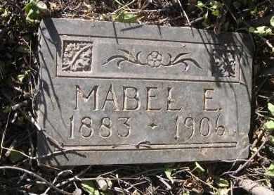 HOWARD, MABEL E. - Dawes County, Nebraska   MABEL E. HOWARD - Nebraska Gravestone Photos