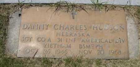 HUDSON, DANNY CHARLES - Dawes County, Nebraska   DANNY CHARLES HUDSON - Nebraska Gravestone Photos