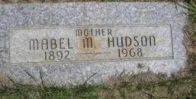 HUDSON, MABEL M. - Dawes County, Nebraska   MABEL M. HUDSON - Nebraska Gravestone Photos