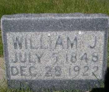 HUFF, WILLIAM J. - Dawes County, Nebraska   WILLIAM J. HUFF - Nebraska Gravestone Photos