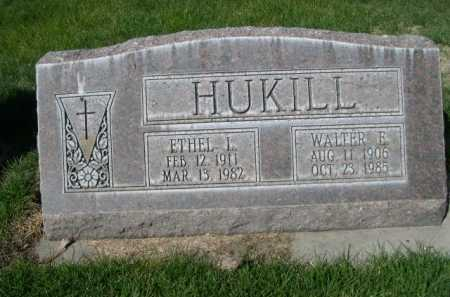 HUKILL, ETHEL L. - Dawes County, Nebraska | ETHEL L. HUKILL - Nebraska Gravestone Photos