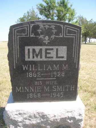 IMEL, MINNIE M. - Dawes County, Nebraska | MINNIE M. IMEL - Nebraska Gravestone Photos
