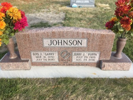 JOHNSON, JERRY J - Dawes County, Nebraska | JERRY J JOHNSON - Nebraska Gravestone Photos