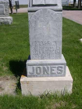 JONES, GRACE A. - Dawes County, Nebraska | GRACE A. JONES - Nebraska Gravestone Photos