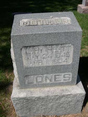 PRATT JONES, MARY - Dawes County, Nebraska   MARY PRATT JONES - Nebraska Gravestone Photos