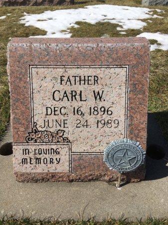 KANNOLT, CARL W - Dawes County, Nebraska   CARL W KANNOLT - Nebraska Gravestone Photos