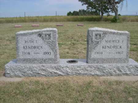 KENDRICK, MAURICE F. - Dawes County, Nebraska | MAURICE F. KENDRICK - Nebraska Gravestone Photos