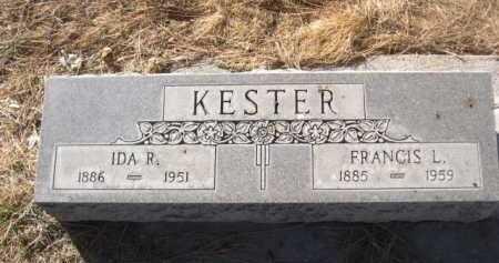 KESTER, FRANCIS - Dawes County, Nebraska   FRANCIS KESTER - Nebraska Gravestone Photos