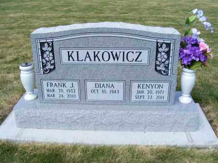 KLAKOWICZ, FRANK J. - Dawes County, Nebraska | FRANK J. KLAKOWICZ - Nebraska Gravestone Photos