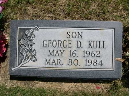 KULL, GEORGE D. - Dawes County, Nebraska | GEORGE D. KULL - Nebraska Gravestone Photos