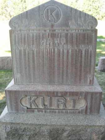 KURT, JOHN - Dawes County, Nebraska   JOHN KURT - Nebraska Gravestone Photos
