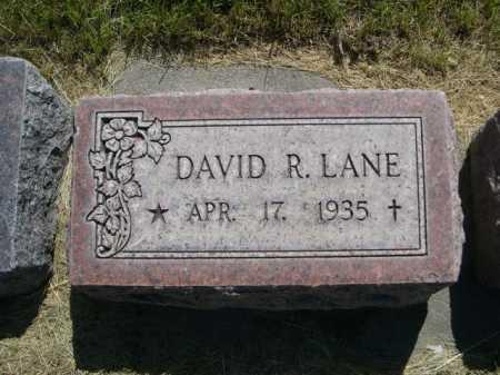 LANE, DAVID R. - Dawes County, Nebraska | DAVID R. LANE - Nebraska Gravestone Photos