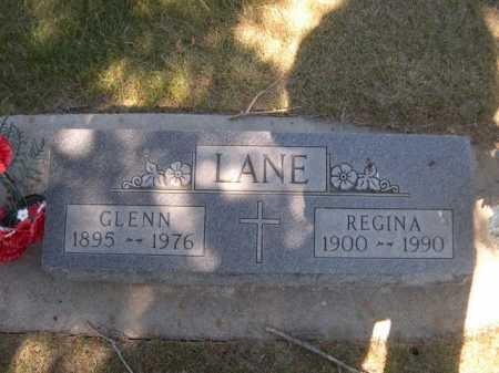 LANE, GLENN - Dawes County, Nebraska | GLENN LANE - Nebraska Gravestone Photos