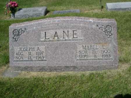 LANE, MABEL L. - Dawes County, Nebraska | MABEL L. LANE - Nebraska Gravestone Photos