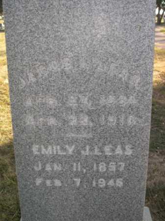 LEAS, EMILY J. - Dawes County, Nebraska | EMILY J. LEAS - Nebraska Gravestone Photos