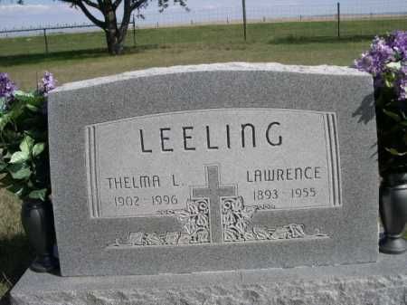 LEELING, LAWRENCE - Dawes County, Nebraska | LAWRENCE LEELING - Nebraska Gravestone Photos