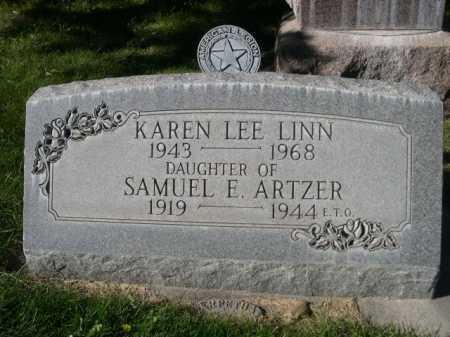 ARTZER LINN, KAREN - Dawes County, Nebraska | KAREN ARTZER LINN - Nebraska Gravestone Photos