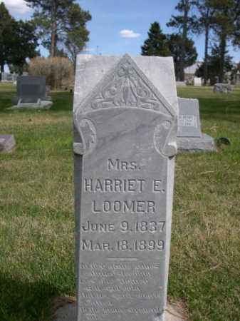 LOOMER, HARRIET E. - Dawes County, Nebraska | HARRIET E. LOOMER - Nebraska Gravestone Photos