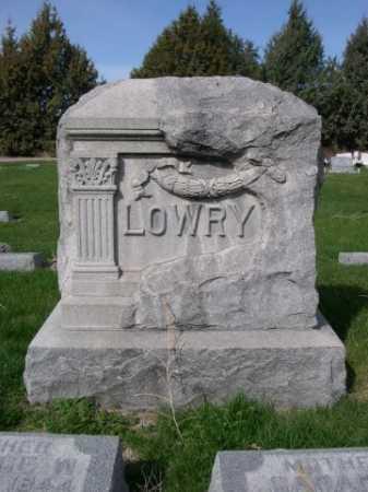 LOWRY, FAMILY - Dawes County, Nebraska   FAMILY LOWRY - Nebraska Gravestone Photos