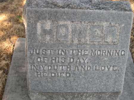 LUTZ, HOMER - Dawes County, Nebraska | HOMER LUTZ - Nebraska Gravestone Photos
