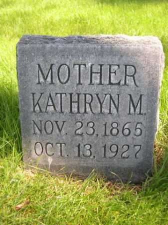 MACKEY, KATHRYN M. - Dawes County, Nebraska | KATHRYN M. MACKEY - Nebraska Gravestone Photos