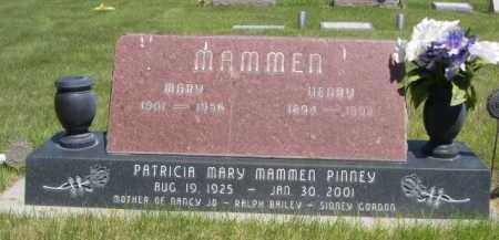 PINNEY, PATRICIA MARY - Dawes County, Nebraska | PATRICIA MARY PINNEY - Nebraska Gravestone Photos