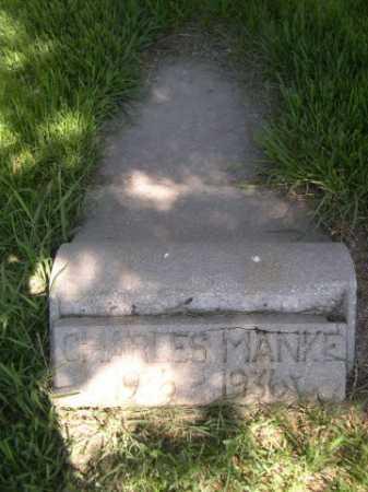 MANKE, CHARLES - Dawes County, Nebraska | CHARLES MANKE - Nebraska Gravestone Photos