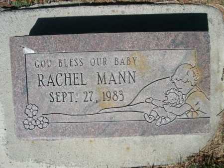 MANN, RACHEL - Dawes County, Nebraska   RACHEL MANN - Nebraska Gravestone Photos