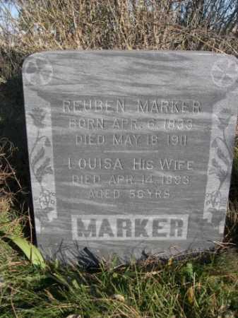 BLAIR MARKER, LOUISA - Dawes County, Nebraska | LOUISA BLAIR MARKER - Nebraska Gravestone Photos