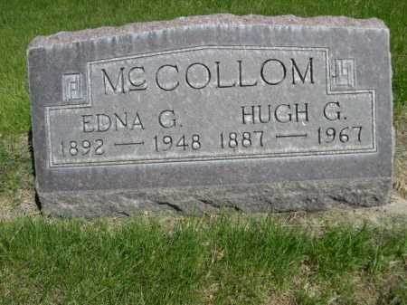 MCCOLLOM, HUGH G. - Dawes County, Nebraska | HUGH G. MCCOLLOM - Nebraska Gravestone Photos