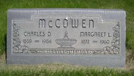MCCOWEN, CHARLES D. - Dawes County, Nebraska   CHARLES D. MCCOWEN - Nebraska Gravestone Photos