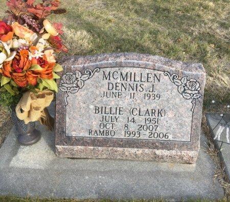 CLARK MCMILLEN, BILLIE - Dawes County, Nebraska | BILLIE CLARK MCMILLEN - Nebraska Gravestone Photos