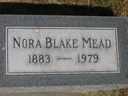 MEAD, NORA - Dawes County, Nebraska | NORA MEAD - Nebraska Gravestone Photos