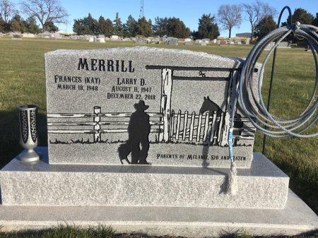 MERRILL, LARRY D - Dawes County, Nebraska | LARRY D MERRILL - Nebraska Gravestone Photos