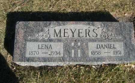 MEYERS, LENA - Dawes County, Nebraska | LENA MEYERS - Nebraska Gravestone Photos