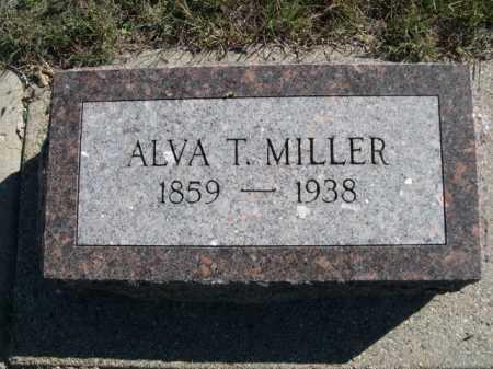 MILLER, ALVA T. - Dawes County, Nebraska | ALVA T. MILLER - Nebraska Gravestone Photos